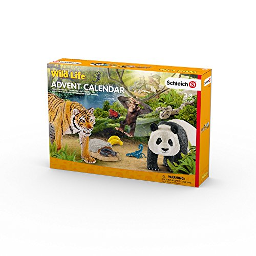 schleich adventskalender wildlife
