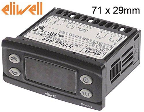 Eliwell ICPlus915 Elektronikregler für Pizzaofen Mastro 12V AC/DC für Pt100/TC Abmaße 71x29mm Nein Anzeige 3½-stellig Thermik