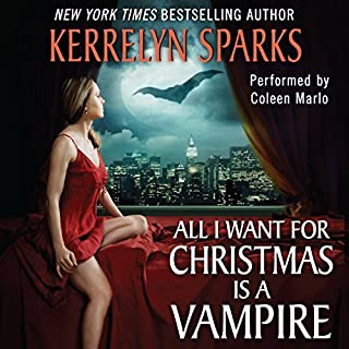 All I Want for Christmas Is a Vampire audiobook cover art