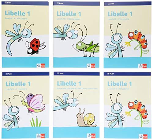 Libelle 1: Lesehefte Paket: Schreiben zu Bildern + 4 Lesehefte Klasse 1 (Libelle. Ausgabe ab 2019)