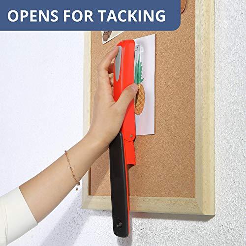 Mr. Pen- Stapler with Staples, Red Stapler, 1000 Staples, Staplers for Desk, Staplers Office, Office Stapler, Desk Stapler, Metal Stapler, Standard Stapler, Stapler and Staple, Stapler Office Supplies Photo #9