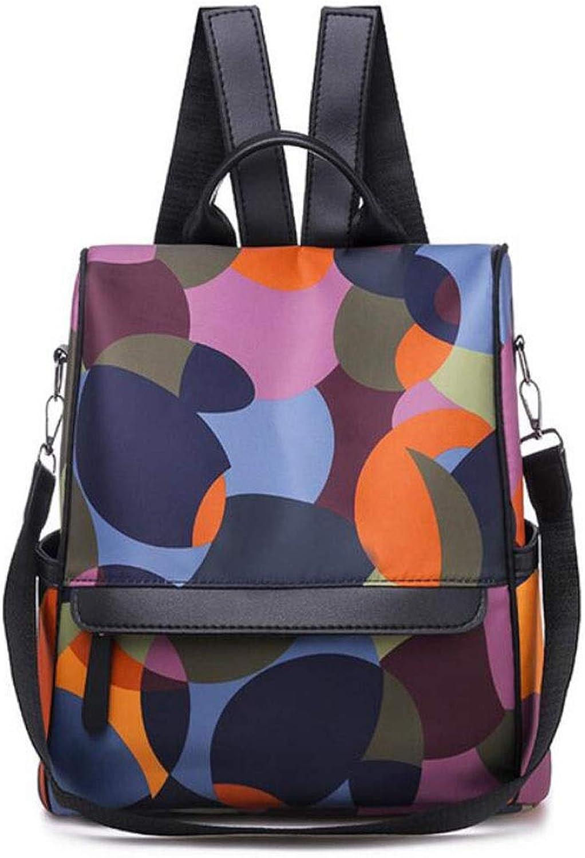 9b34c81bf73a3 ... Diebstahlsicherer Rucksack Schulter Messenger Bag (Farbe Bunte