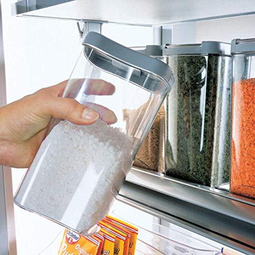 SO-TECH® Vorratsdosensystem Vorratsdosen Set für DISPENSA Hochschrank Apothekerauszug Apothekerschrank