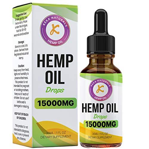 Complément alimentaire Gouttes d'huile de chanvre   15 000 mg   Haute résistance   Fabriqué au Royaume-Uni   Norme GMP   Sans arômes artificiels   Sans OGM   Végétalien et végétarien   30 ml