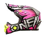 casco oneal motocross rosa