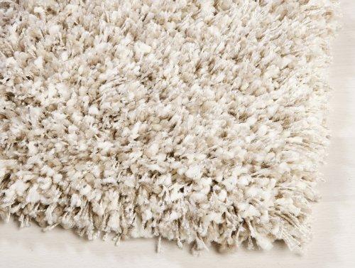 Ragolle Twilight Shaggy Teppich aus Belgien Muster 2211 weiss/beige