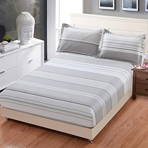 Home Textile Kid Child Bed Hoeslaken 100% Katoen Jongen Meisje Beddengoed Matrashoes 100/180 * 200cm King Queen Single 1Pc