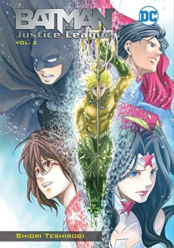 Batman and the Justice LeagueManga Vol. 2 (Batman and the Justice League Manga) (English Edition)