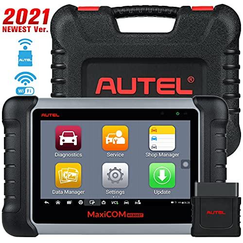 Autel MaxiCOM MK808BT Strumento Diagnostica Auto OBD2 Scanner con Bleed dei Freni, IMMO, Reset Olio, EPB, SAS, BMS, Dpf - Versione Aggiornata di MK808