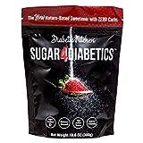 Diabetic Kitchen Sugar4Diabetics Keto Friendly Sweetener - Zero Calorie, Low Carb Sugar Free Sugar Substitute - Natural Allulose and Monk Fruit Sweetener Granulated Sugar Alternative