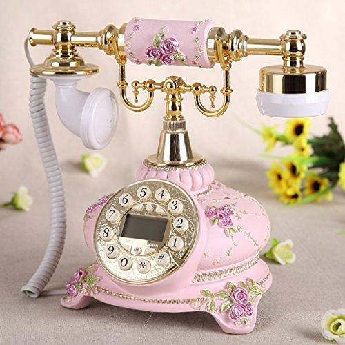 Shopping-De style européen Antique Métal Retro Fashion Creative Téléphone Café / Rose