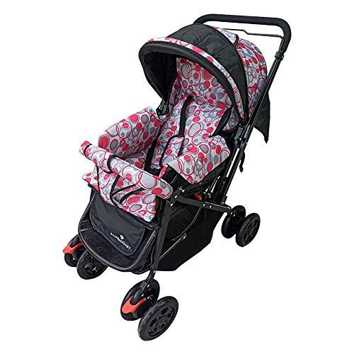 Daffodil Economy Newborn Baby Stroller pram by StarAndDaisy, Light-Weight, Easy-Folding, Multi-Color...