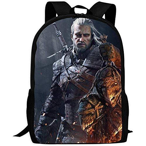 Die Wi-tc-her 3 Student Rucksack Functional School Bag