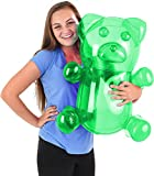 Block Buster Costumes Delicious Candy Large Green Gummy Bear Animal Inflatable 24'