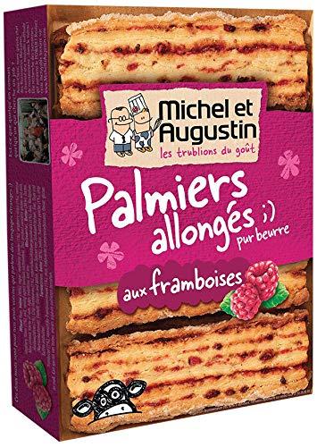 Michel et Augustin - Biscuits Palmiers Allongés Framboises