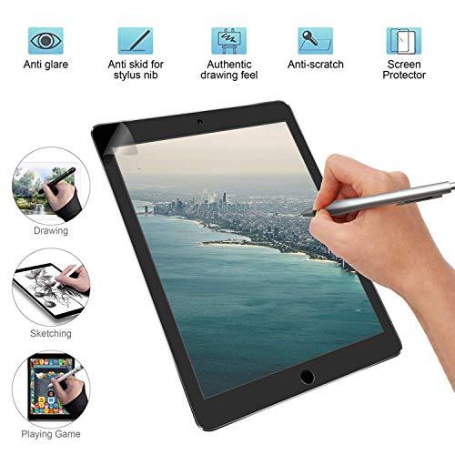 Papier Ähnlicher Displayschutz Mattes Displayschutz-Zeichenpapier für iPad Air 10.5 Zoll, kompatibel mit Bleistift und Gesichtserkennung