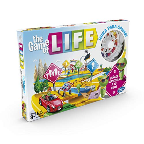 Hasbro Gaming- Game of Life Juego de Mesa, Multicolor, única (E4304105)