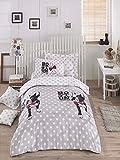 Luxus Bettwäsche Set 2-teilig Baumwolle Rich Hohe Qualität Bettwäsche Einzelbett Bettbezug Grau Schwarz Weiss Mädchen Jungen Teenager Erwachsene Mops Chihuahua Boston Terrier Cartoon Knochen Fliege