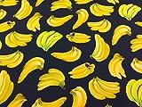 Bananen Kleid Stoff–Baumwolle–111,8cm