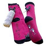 Sockswear Socke in Prosecco Spardose Größe 35-41, Farbe fuchsia