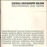 Die Mitglieder der Zentralen Grafikgruppe im VBK / DDR zeigen Handzeichnungen und Grafik. Ausstellung vom 10.11.-3.12.1988 in der Galerie Unter den Linden