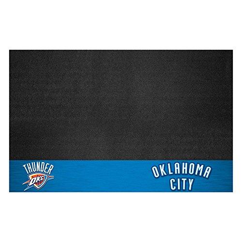 Fanmats NBA Oklahoma City Thunder Grill Mat, Small