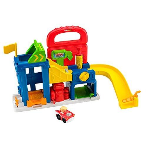 Fisher Price BFT92 - Il Garage Dei Little People