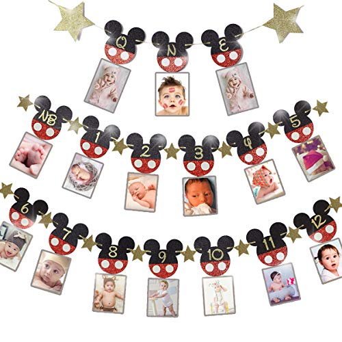 50% off 3 PCS Glitter Mickey Photo Banner Clip the Extra 50% off Coupon, No Promo Code Needed