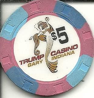 $5 trump casino chip gary indiana
