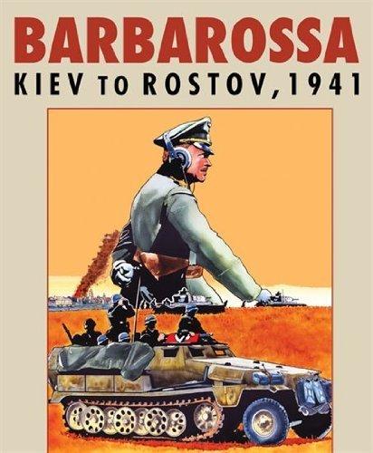 Barbarossa Kiev to Rostov, 1941 Board Game by GMT Games