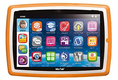 Liscianigiochi-Mio Tab 10' Tutor Tablet Prescolare, 1GB Memoria RAM, 16 GB Memoria Flash, espandibile, Multicolore, 71982