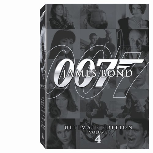 James Bond Ultimate Edition - Vol. 4 (Dr. No   You Only Live Twice   Octopussy   Tomorrow Never Dies   Moonraker)