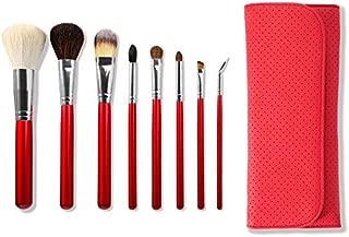 Morphe 8 Piece Candy Apple Red Makeup Brush Set (Set 700)