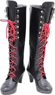 Whirl Cosplay Boots Shoes for Danganronpa Enoshima Junko