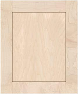 Unfinished Maple Shaker Cabinet Door by Kendor, 18H x 15W