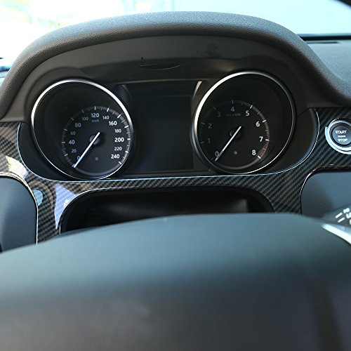 Cadre de décoration pour Discovery Sport Voiture Tableau de bord Coque ABS Chrome Autocollant Accessoires pour conduite à gauche