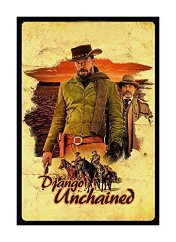 bubbleshirt Poster Django Unchained - Django - Quentin Tarantino - Movie - Film Cult - Disponibile nei Formati 50x70cm e 70x100cm