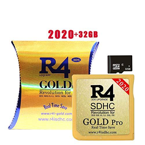 The Gold (Gold Pro) SDHC Inclus 32 GB SD Card pour DS/DS Lite/DSi/DSi XL / 3DS / 2DS - déjà installé Le Noyau