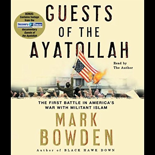 Guests of the Ayatollah audiobook cover art