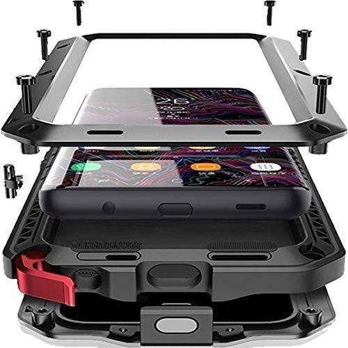 Capa Case Galaxy S10 Plus + Tela 6.4 Anti Shock Impacto Armadura Metal Prova Resistente Proteção Parafusada