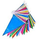 Shatchi BUNTING-MULTICOLOUR-6041 - Banderines multicolores (10