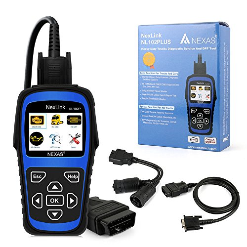 NL102PLUS Heavy Duty Truck Diesel HD DPF Diagnostic Scanner ABS Reset Tool OBD2
