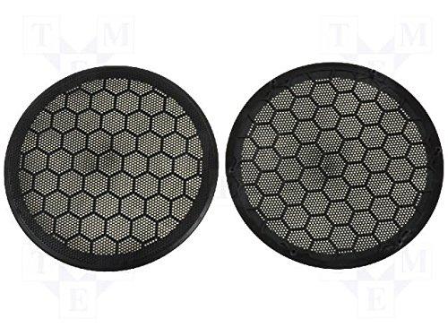 Lautsprecher Gitter für VW Golf IV, Passat Abdeckung Grill Farbe schwarz 165 mm