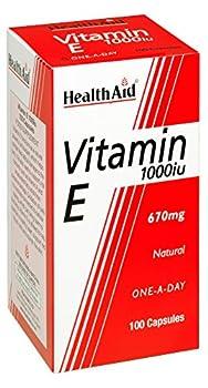 HealthAid Vitamin E 1000iu Natural 100 capsule