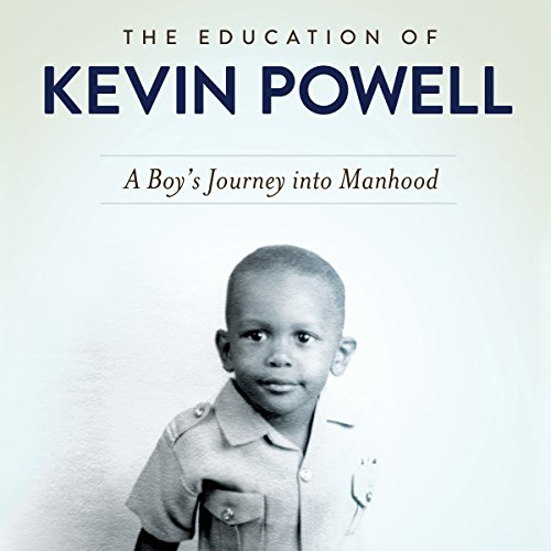 The Education of Kevin Powell audiobook cover art