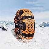 Hging Cadenas de Nieve, 6 PCS Cadenas de neumáticos de Emergencia para camionetas/automóviles/SUV/ATV, Cadenas de Nieve Anti Deslizamiento Universal TPU engrosadas, Correas de neumático de tracc