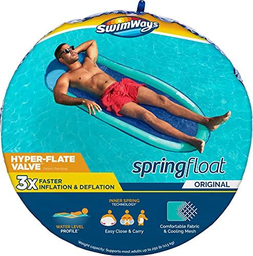 Spring schnell aufblasbares Float