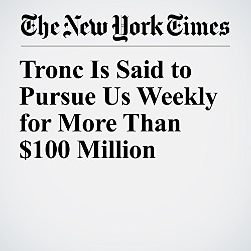 Tronc Is Said to Pursue Us Weekly for More Than $100 Million copertina