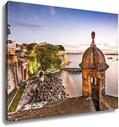 Wall Art Puerto Rico Coast Art//Canvas Print Home Decor Poster San Juan