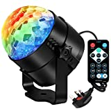 Disco Light, Disco Ball for Kids Rotating for birthday Party Pub Disco Home